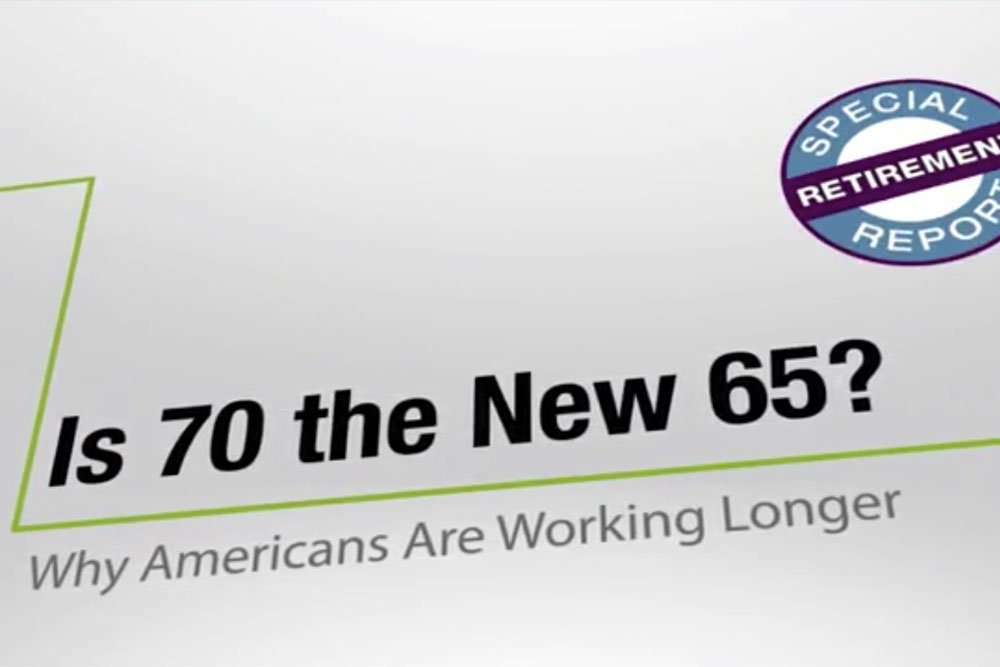 Cover image for the video showing the impact why americans are working longer